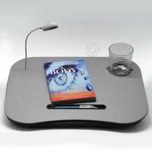 Lap Table with Light