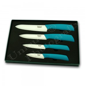 Ceramic Knives Blue